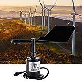 Neufday Sensore di velocità del Vento, 4-20 mA 8 Indicazioni di indicazione Strumento di misurazione anemometro del sensore di velocità del Vento in policarbonato