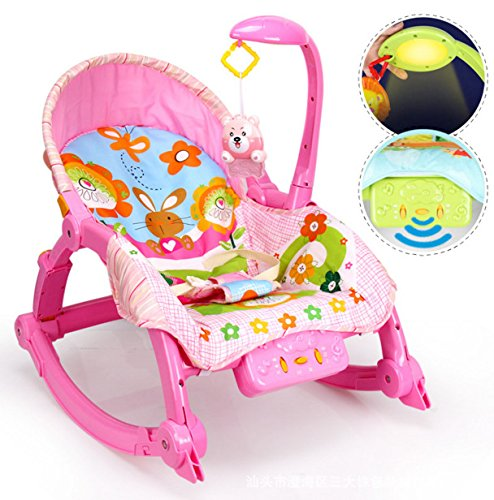 Best For Kids L319 pink Wunderwelt 2in1 Schaukelsitz Deluxe mit Musikfunktion