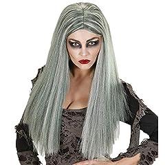 Idea Regalo - WIDMANN Zombie In Sacchetto Parrucca Donna Lunga Liscia Party 262, Multicolore, 8003558067404