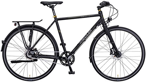 Kreidler Raise RT9 Light Trekking Bike 2017 (Schwarz, 28