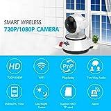 ZMM Home Caméra de sécurité IP sans Fil Wi-FI Smart Camera Wi-FI Audio Record...