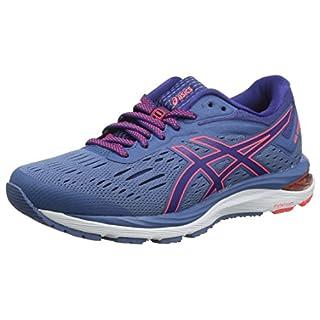 Asics Women's Gel-Cumulus 20 Running Shoes, Blue (Azure/Blue Print 401), 6 UK (39.5 EU)