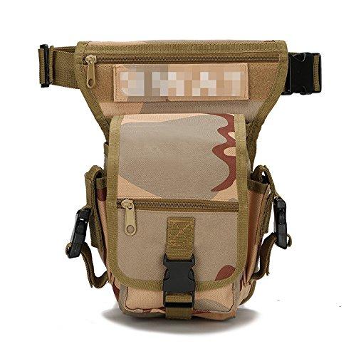 Bergsteigen, Outdoor, Sport, Freizeit, Taille Tasche Packen, Bein Sansha camouflage