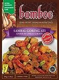 Bamboe Bumbu Sambal Goreng Ati (Hígado en salsa de coco), 54 gramos (Pack de 3)