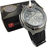 Stylische Herren Uhr mit eingebautem Feuerzeug, nachfüllbar, Schwarzes - Best Reviews Guide