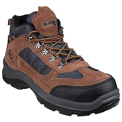 Hi tec safehike chaussures montantes de s curit homme 43 eu marron - Amazon chaussure de securite ...