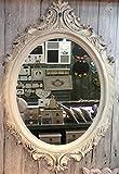 Charma affascinante casa di campagna in legno 80cm Specchio da parete 18–7Specchio antico appendiabiti Specchio Corridoio Specchio Barocco