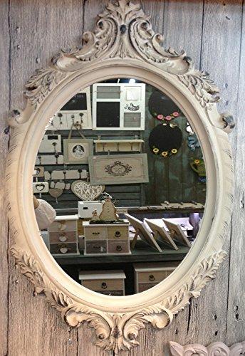 charma nter rústico madera 80cm espejo de pared 18–7Espejo Antiguo perchero Espejo Piso Espejo barroco