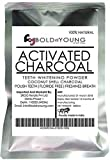 #3: BoldNyoung Activated Charcoal Powder for Face Pack (100 grams)