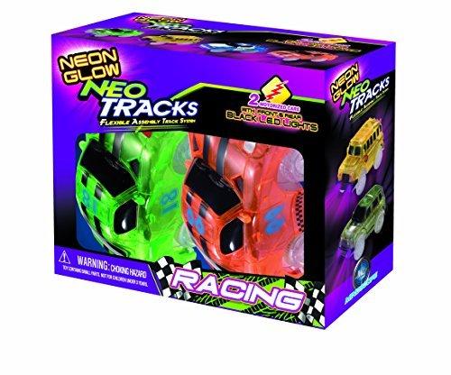 Preisvergleich Produktbild Mindscope Neon Glow Twister Tracks Neo Tracks LIGHT UP (5 LED lights) VEHICLES: RACE SERIES by Mindscope