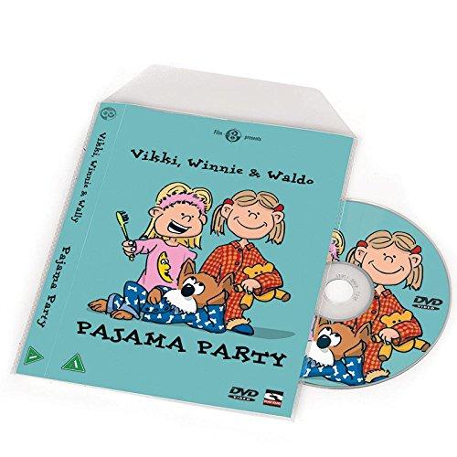 DVD-Hüllen für die DVD Aufbewahrung – Platz für Cover - 100 St.