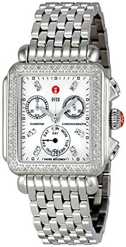 Michele Signature Deco Mww06p000099 Cronografo, Orologio da Donna
