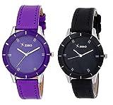 Xeno ZD000230LL Purple Black Women's Ana...