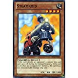 Best single card Card Yugiohs - YuGiOh : BP02-EN037 1st Ed Steamroid Common Card Review