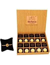 DEARCO CHOCOLATIER CHOCOLATE GIFT BOX, RAKHI CHOCOLATE For BROTHER, Luxury Rakhi Gift, PREMIUM RAKHI GIFT CHOCOLATES... - B073ZMN6Q8