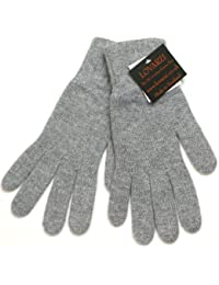 Lovarzi - Cachemira guantes - super suave y cálido para el invierno - de hombres elaborados en escocia