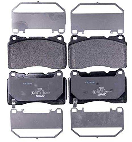 HELLA PAGID 8DB 355 015-481 Kit pastiglie freno, Freno a disco, Assale anteriore