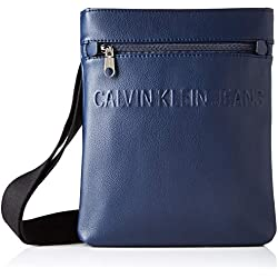 Calvin Klein MICRO PEBBLE EU FLAT PACKHombreShoppers y bolsos de hombroAzul (Navy) 3x28x22 centimeters (B x H x T)