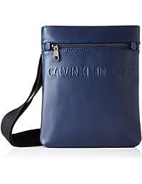 Calvin Klein Micro Pebble Eu Flat Pack, Sacs portés épaule