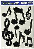 Note de Musique Clé de Sol Musique salle de Stickers muraux éducatifs