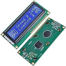 Tenflyer Módulo LCD ESUMIC para Arduino UNO R3 Mega2560 16 X2 1602 blanco en azul