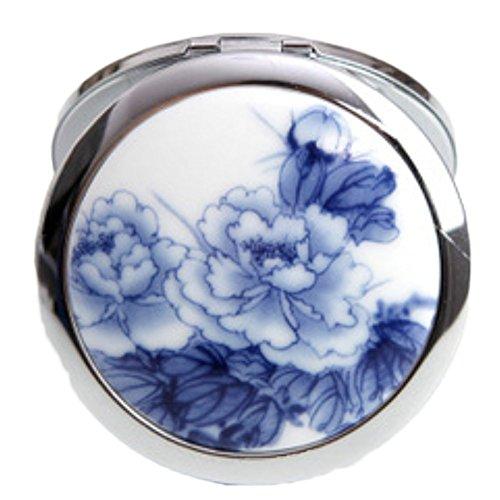 Doitsa Kosmetikspiegel Mini Dual Face Kompakt Spiegel Kompakt 1x / 5x Tragbares Vergrößerungsglas...