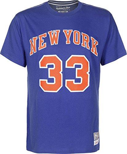 Mitchell & Ness NBA NY Knicks Patrick Ewing T-shirt M royal