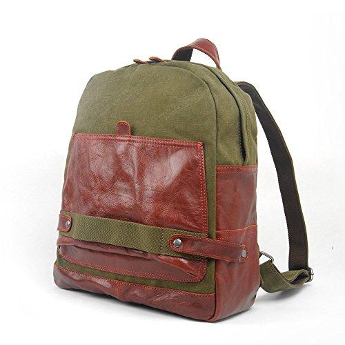 Everdoss Unisexe sac à dos en toile cartable sac de l'élève sac de l'école sac d'ordinateur portable sac de loisirs de vogue