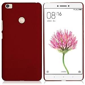 Case Creation TM Xiaomi Mi Max / Xiaomi MiMax - 6.44 inch / Xiaomi Redmi Mi Max / MI Max Matte finish Back case cover Guard Color - MAROON WINE RED