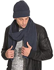 Selected Homme - SHElement hood H - Homme Bleu Taille Onesize 100 % coton.