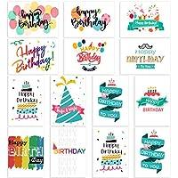 Unomor Blue Birthday Cards