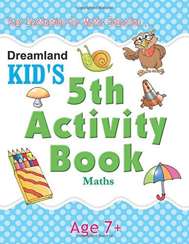 5th Activity Book – Maths (Kid's Activity Books)