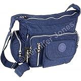 WILD THINGS ONLY !!! Bag Street Umhängetasche Bodybag Nylon, ohne, 30x22x15cm, Blau