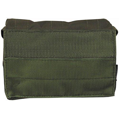 """MFH Mehrzwecktasche """"Mission III"""" Universaltasche Geldbörse Tasche Outdoor Tasche Camping viele Farben OLIV"""