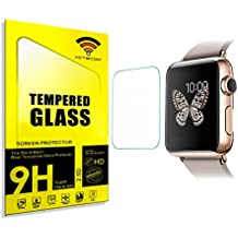 ACTECOM® PROTECTOR DE PANTALLA 38 MM PARA APPLE WATCH SERIE 3 CRISTAL TEMPLADO