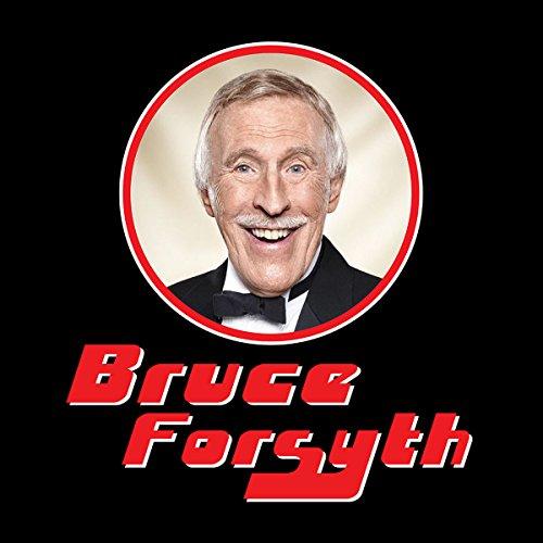 Bruce Forsyth Retro Photo Frame Men's T-Shirt Black