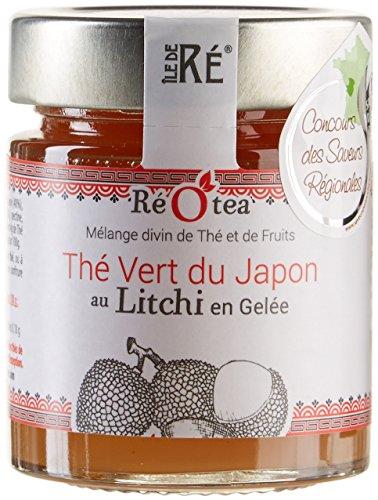 Réotea The Vert au Litchi en Gelée 165 g