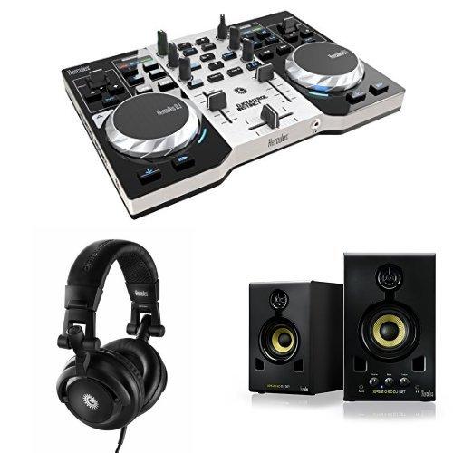 Hercules DJ Control Instinct S Serie DJ Controller + Cuffie + Casse Altoparlanti