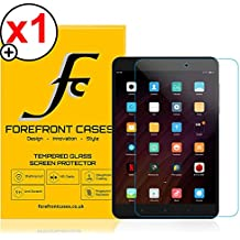 Forefront Cases® Xiaomi Mi Pad 3 [HD CLARIDAD] Protector de Pantalla de Cristal Vidrio Templado Defensa Membrana Screen Protector de película de la cubierta [ULTRA THIN sólo 0,3mm]