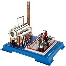 Wilesco D16 - Maqueta de máquina de vapor (capacidad de caldera 250 ml, incluye válvula de seguridad y silbato)