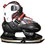 Hudora Xpulse Skates Ice Skates Black/Red/White Profi SSkates Kids Ice Skates, shoe size:29-32