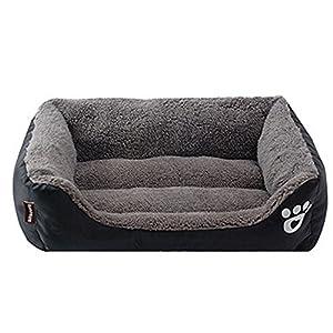 Nibesser Lit Coussin Panier Chien Chat Lavable Pet Confortable