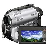 Sony DCR-DVD110 Camcorder (DVD und Flash, 40-fach opt. Zoom, 6,9 cm (2,7 Zoll) Display, Bildstabilisator)