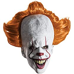 Adult Deluxe IT Clown Movie Mask Standard