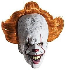 Idea Regalo - RUBIES MASQUERADE CO UK LTD Adult Deluxe IT Clown Movie Mask Standard