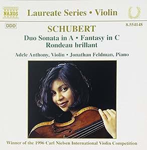 Schubert Sonate für Violine und Klavier Anthon