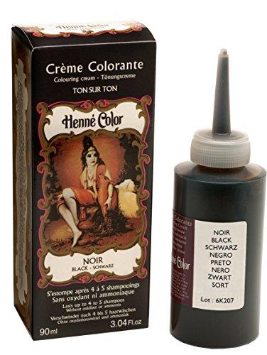 Tinte de henna para el cabello, color rojo intenso, 90 ml, de Henne Color