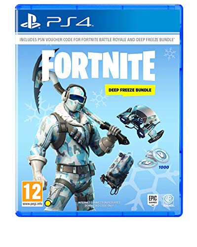 Fortnite: Deep Freeze Bundle( No CD- Only PSN Voucher Code) (PS4)
