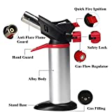 zhart Barbecue Blow Torch Burner Welding Soldering Iron Lighter Flame Gun Gas Butane