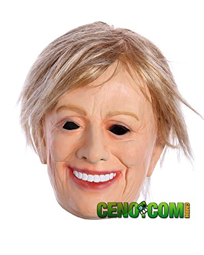 ker Latexmaske Hillary Clinton Promi Maske (Promi-halloween-kostüm)